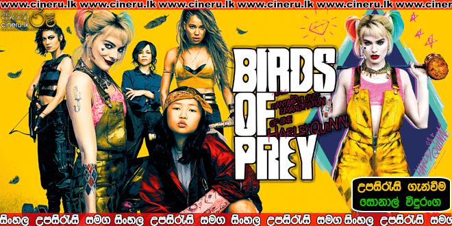 Birds of Prey 2020 Sinhala Sub