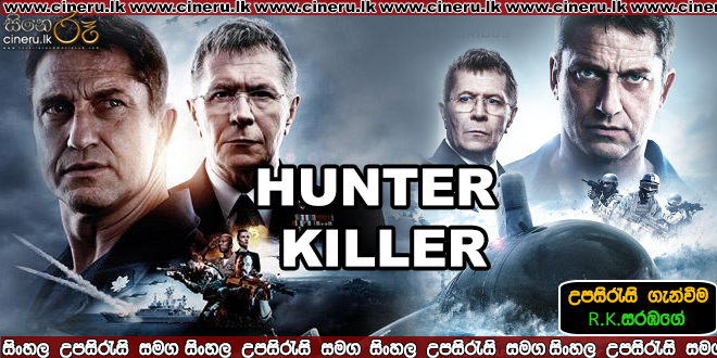 hunter killer 2018 sinhala sub