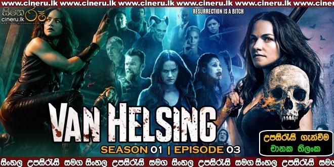 Van Helsing S01E03 Sinhala Sub