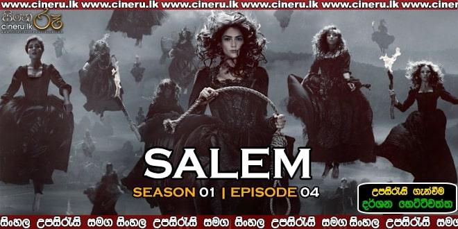 Salem S01E04 Sinhala Sub
