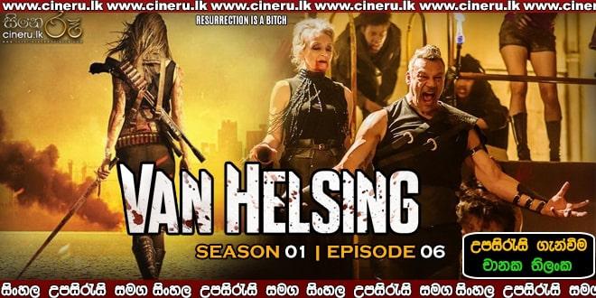 Van Helsing S01E06 (2016) Sinhala Subtitles