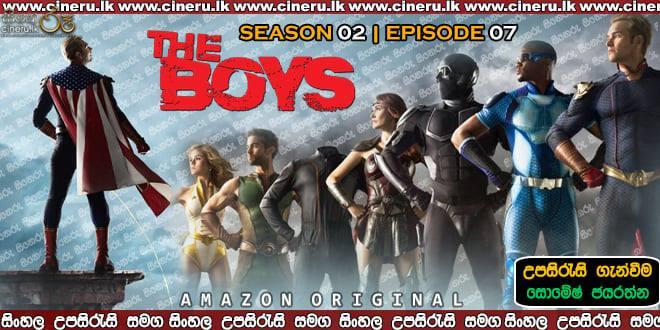The Boys (2020) S02E07 Sinhala Sub