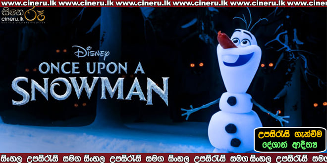 Once Upon a Snowman 2020 Sinhala Sub