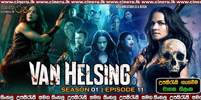 Van Helsing S01E11 (2016) Sinhala Sub