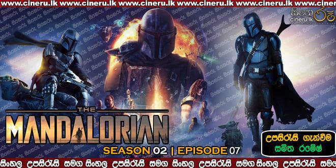 The Mandalorian (2020) S02 E07 Sinhala Subtitles