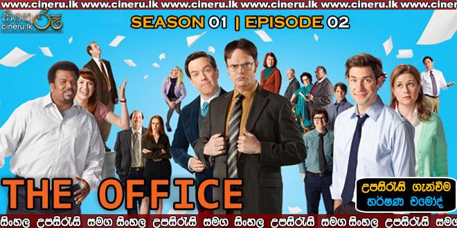 The Office (2005) S01 E02 Sinhala Subtitles