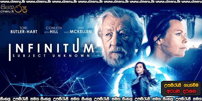 Infinitum: Subject Unknown 2021 Sinhala Sub