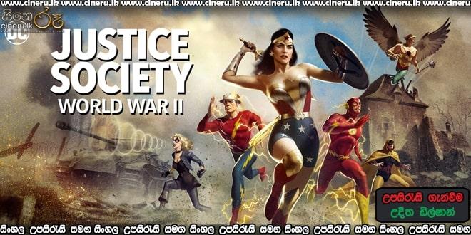 Justice Society: World War II (2021) Sinhala Sub
