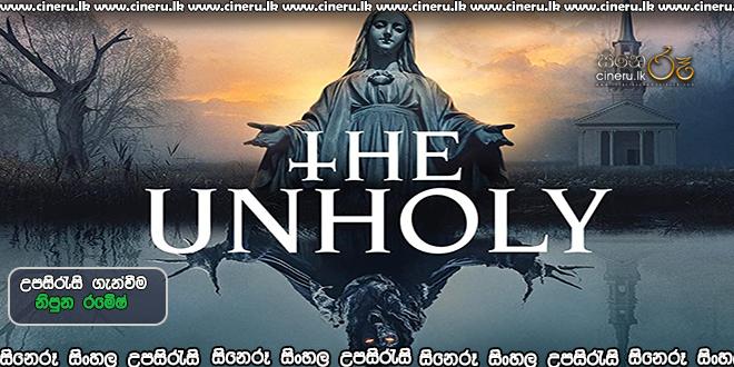 The Unholy (2021) Sinhala Sub