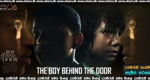 The Boy Behind the Door 2021 Sinhala Sub